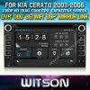 Witson DVD-радио для KIA Cerato (03-06) / PRO_Ceed, Ceed (2006-2009) / Sportage (2004-2010) / Sorento (2002-2009) (W2-D9527K)