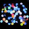 Rgb-Farbe, die LED-Kugel-Zeichenkette-Licht für WeihnachtsweihnachtsGeburtstagsfeier ändert