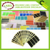 50x20 mm Rectangle Código de color Pegatina de color Sticky autoadhesivo Label