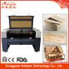 Preço de madeira da máquina de corte do laser do acrílico da venda quente
