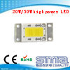 脱熱器との長方形の形の20With30W高い発電LED