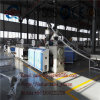 PVC machine de panneau de mousse de coextrusion de PVC de machine d'extrudeuse de panneau de mousse de trois couches