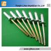 Заклепка алюминия цвета DIN7337/Steel/Stainless стальная