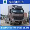 アフリカのための中国Made HOWO A7 6X4 Trailer Hauling Truck