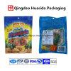 Мешок упаковки еды PP пластичный с застежкой -молнией