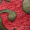 Tissu 100% teint de fils de polyesters de Chenille de capitonnage pour le textile à la maison