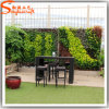 Parede artificial da grama verde da decoração do jardim do fabricante profissional