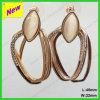 Klem Earings van het Koper van de Verkoop van de fabriek de Directe en Klem Earings van het Koper van de Juwelen van het Metaal de Decoratieve