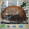Designed moderno Commercial Building di Steel Structure
