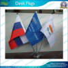 3-Holder Desk Flag avec Steel Polonais et Stand (NF09M04001)