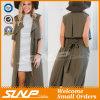Form-passende Frauen-Umhüllungen-geöffnete Wolljacke für Damen