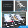 Cadeira de madeira do estilingue da cadeira da sala de estar da cadeira de praia da forma