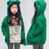 Симпатичная куртка Hoodie ватки одеяния детей