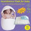 Garniture changeante de bébé populaire remplaçable de marque d'incontinence