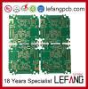 1.0mm 6 couches de l'ENIG de l'électronique de vidéo numérique de carte de carte à circuit