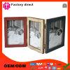 Profilatura i fornitori laterali della cornice dell'album di foto di disegno tre