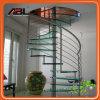 Projeto espiral interno Dd005 do corrimão da escadaria do aço inoxidável