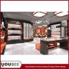 Diseño interior de la tienda/del almacén de zapatos para la exhibición calificada de la tienda de zapatos de la fábrica