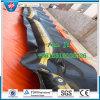 Поглотите и очистьте заграждение загородки PVC, нефтяной бум