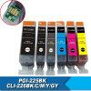 Cartouche d'encre/cartouche réutilisable/Ink/CISS en bloc pour Canon Pgi-225 Bk/Cli-226 4530b008 C, M, Y