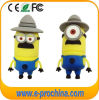 Promotional Items (EG. 566)のための柔らかいPVC Minions USB Flash Drive