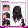 Style libero Straight Lace Closure con Hair cinese