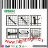 System-passendes Supermarkt-Draht-Rasterfeld-Bildschirmanzeige-Regal für Imbiß