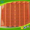 Vloer Met latjes van de Varkensfokkerij van de Bevloering van het varken de Plastic