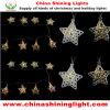 Indicatori luminosi solari della decorazione LED del giardino del partito di festa di natale