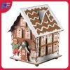 Diseño de madera de la pequeña casa del calendario del advenimiento con 24 cajones