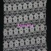 Tissu micro de lacet de fibre de petite fleur de mode