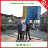 90m3/H PLC Controller Concrete Batching Plants voor Rusland