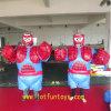 Vestito di Hallowmas Sumo - gioco gonfiabile divertente