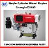 Dieselmotor Zs195 van de Cilinder van Changfa de Enige