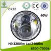 Linterna auto de la motocicleta de la viga LED de la linterna 40W del LED Hola-Lo