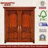 ヨーロッパの別荘の倍の前部木製のドア(XS1-017)