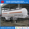 los acoplados del petrolero del ácido hidroclórico 30cbm 30000 litros concentraron los acoplados del tanque del ácido sulfúrico