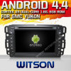 Gmc Yukon (W2-A7036)를 위한 Witson Android 4.4 System Car DVD