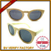 Óculos de sol de madeira de bambu recicl naturais Handcrafted