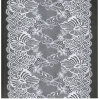 Nouveau tissu de lacet, tissu 100% de lacet de polyester pour la robe