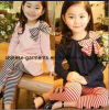 Kids Girl를 위한 관례 OEM Fashion Shirt와 Pants Suit