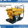 De dubbele MultiGenerators van de Brandstof (diesel, HFO, het Gas van de Aard, Biogas)