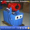 Máquina que prensa Htm350/arrugador eléctrico de la manguera