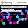 Hochzeits-Dekoration DJ Licht Effekt 3D LED-Wandtafel-Leuchte
