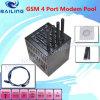 GSM 4 Port Modem Pool con il sistema di gestione dei materiali di Wavecom Q2406 Module Send Bulk SMS