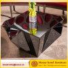 De nieuwe Koffietafel van het Glas van het Meubilair van de Hal van het Hotel van de Stijl Veelhoekige Zwarte