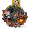 La coutume chaude de vente a annoncé la médaille en gros bon marché de souvenir de la Turquie