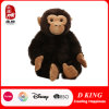 Brinquedo enchido macio do animal do gorila do luxuoso de Brown da alta qualidade de BSCI