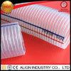 Boyau renforcé antistatique de fil d'acier de PVC pour fournir l'eau et l'aspiration de Chine