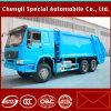 Sinotruk HOWO 14m3는 쓰레기 14m3 쓰레기 압축 분쇄기 트럭을 사절했다